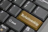 Relationship key on keyboard