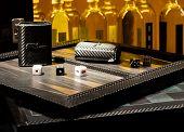 Dice, Backgammon & Bottles