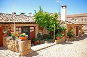 Vintage Stone Home In Old Portugal Village.