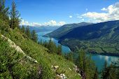 Summertime at Kanas Lake