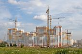 Construction Of Big Residential Building