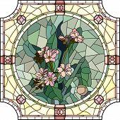 Vector Illustration Of Flower Forget-me-not.
