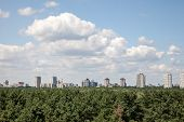 Cityline Kyiv From Rooftop