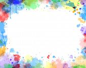 water color vector background
