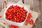 Portion Of Goji Berries (woldsberry)
