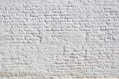 White Plastered Brick Wall