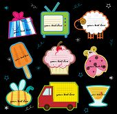 foto of ice-cream truck  - a collection of cute and fun invitation cards - JPG