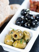 Fresh Olives (black And Green)