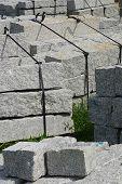 Curbs stone
