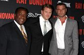 LOS ANGELES - JUL 9:  Wendell Pierce, Dash Mihok, Liev Schreiber at the