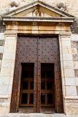 Door Entry From Catholic Church