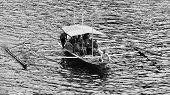 Filipino Boat In The Sea, El Nido, Philippines