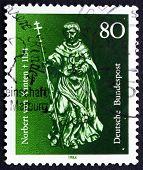 Postage Stamp Germany 1984 St. Norbert Von Xanten