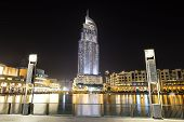 Dubai, Uae - September 10: The Night View On Dubai Mall. It Is The World's Largest Shopping Mall.  I