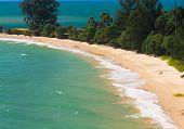 On a Sunny Beach Vacation Retreat