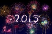 New year's eve fireworks 2015