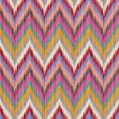 Seamless Ikat Wallpaper.