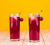 red fruit cocktail