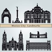 Mexico City Landmarks And Monuments