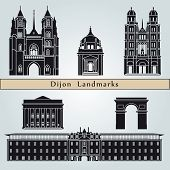 Dijon Landmarks And Monuments