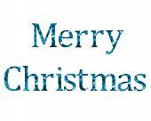 Bokeh Christmas letters