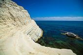 Sea View From The Scala Dei Turchi
