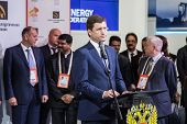MOSCOW, RUSSIA, JUNE, 16: Russian Energy Minister Alexander Novak. 21st World Petroleum Congress, June, 16, 2014 at Crocus Expo  in Moscow, Russia
