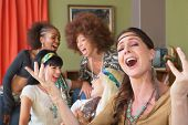 Five Singing Female Hippies