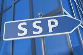 Supply Side Platform Arrow Sign