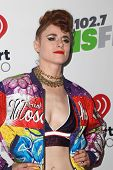 LOS ANGELES - DEC 5:  Kiesza at the KIIS FM's Jingle Ball 2014 at the Staples Center on December 5, 2014 in Los Angeles, CA