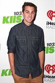 LOS ANGELES - DEC 5:  Cody Johns at the KIIS FM's Jingle Ball 2014 at the Staples Center on December 5, 2014 in Los Angeles, CA