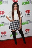 LOS ANGELES - DEC 5:  Becky G at the KIIS FM's Jingle Ball 2014 at the Staples Center on December 5, 2014 in Los Angeles, CA