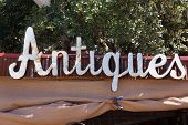 Old Rusty Antiques sign