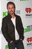 LOS ANGELES - DEC 5:  Derek Hough at the KIIS FM's Jingle Ball 2014 at the Staples Center on December 5, 2014 in Los Angeles, CA