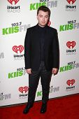 LOS ANGELES - DEC 5:  Sam Smith at the KIIS FM's Jingle Ball 2014 at the Staples Center on December 5, 2014 in Los Angeles, CA