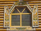 Wooden Window, Izmaylovo, Moscow