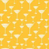 Martini Glasses.