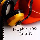Register With Earphones And Helmet