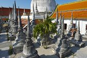 Wat Phra Baromathat in Nakhon Sri Thammarat, Thailand.