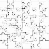 Puzzle template.