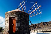 Windmill in Gran Canaria, Spain