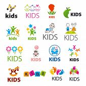 Biggest Collection Of Vector Icons Children