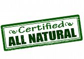 Certified All Natural