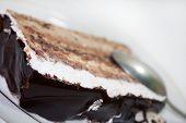 Close View Of Chocolate Cake