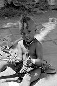 child fron Himba tribe