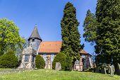 Famous Old Church In Osterheide