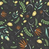 Floral Grey Pattern