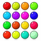 picture of gumballs  - Candy Gumball  - JPG