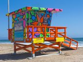 Portraits Of Hope Lifeguard Tower
