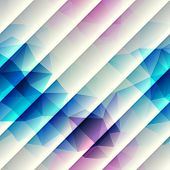 Geometric pattern with diagonal lines.